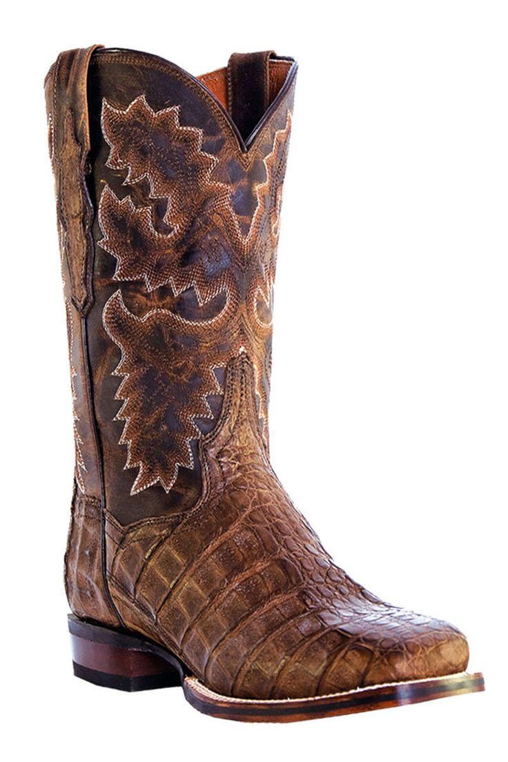 Dan Post Men's Caiman Denver Stockman Cowboy Boots