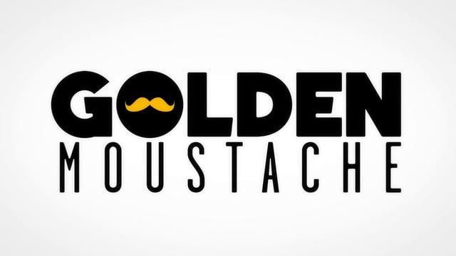 """Golden Moustache ident    • • •    Jingle du collectif """"Golden Moustache""""    - - - - - - - - - - - - - - - - - - - - - - - - - - - - - - - - -    production : TimTom Films  client : Golden Moustache - M6  Réalisation/design : Romain Segaud    ☺"""