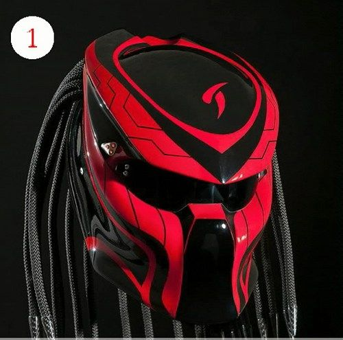Predator Helmet For Bikers Street Fighter | benmustafaz_80Shop -  on ArtFire
