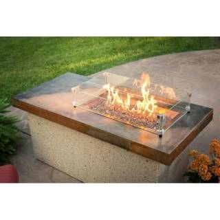 Check Out The Outdoor GreatRoom ART 1224 BRN K Artisan Fire Pit Table