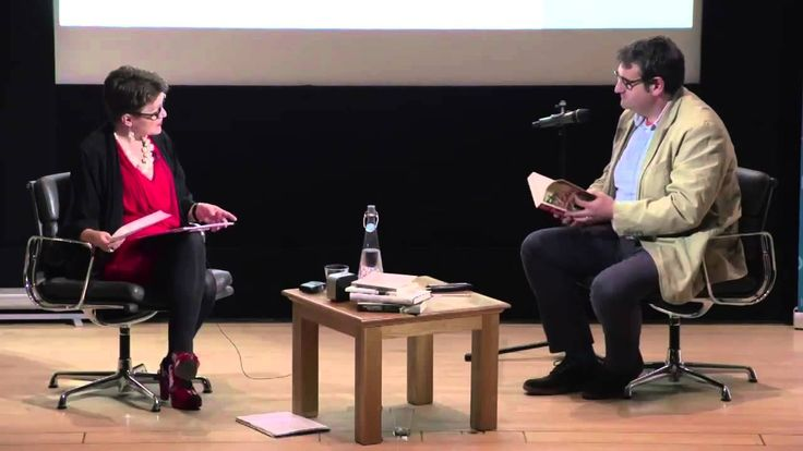 #authorinterview #mihamazzini European Literature Night 2013 with Rosie Goldsmith about the novel German Lottery (starts at 1:14:54).