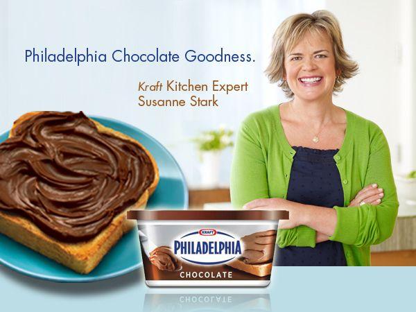 Philadelphia Chocolate Goodness - philadelphia chocolate goodness - Kraft First Taste Canada