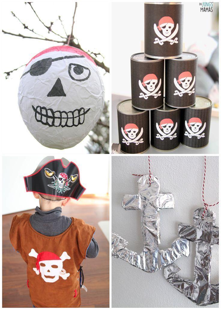 32 besten Piratenparty Bilder auf Pinterest   Kindergeburtstag ...