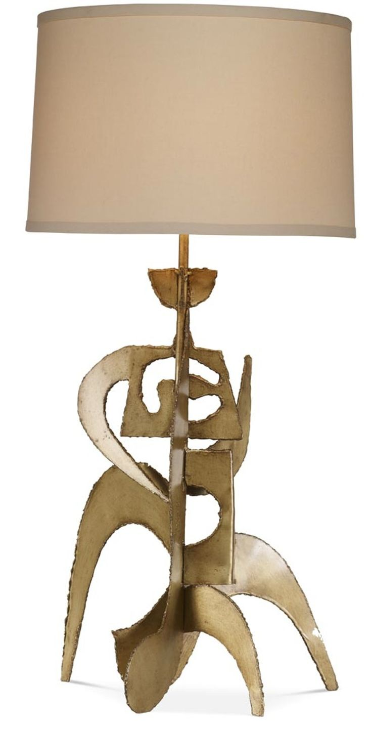 Hepworth Table Lamp - Mid-Century / Modern Contemporary Transitional Table - Dering Hall