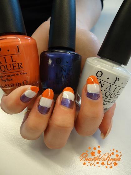 Queen's day nails tutorial met vlaggetjes. Zelf maken? http://www.girlz.nl/mode-beauty/whats-new/2954/qday-nails-part-3