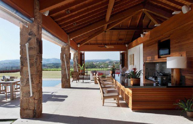 Estilo fazenda colonial simples elegante design de for Modelos de interiores de apartamentos