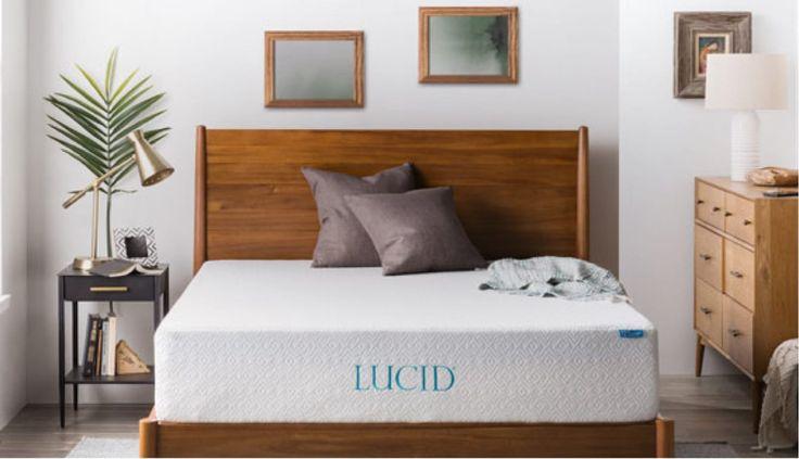 Lovely Lucid 12 Inch Gel Foam Mattress Review In 2018 - Popular best mattress reviews Model