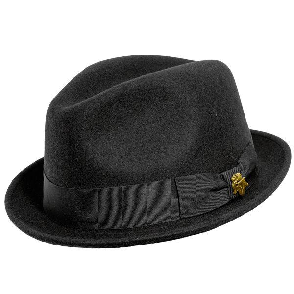 The Bigalli Milano wool felt fedora hat has both style bb121f8c3607