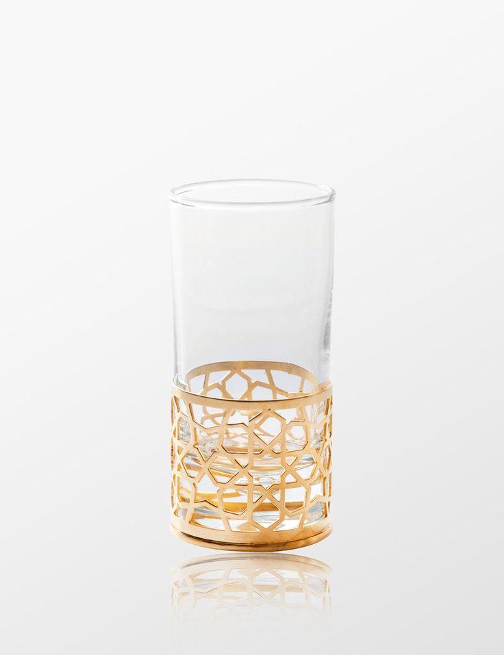 Nak's Selcuk Water Glass( Gold ) - Myra Store