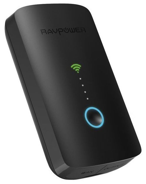 RAVPower wireless Router, Wifi Repeater, 6000mAh Powerbank  --- A must-to-have device for extent the store space of my ipod/iphone; you can connect via wifi your devices and play directly whatever file extension or free space by transfer... and also it is a powerbank.  Weight: 48 g