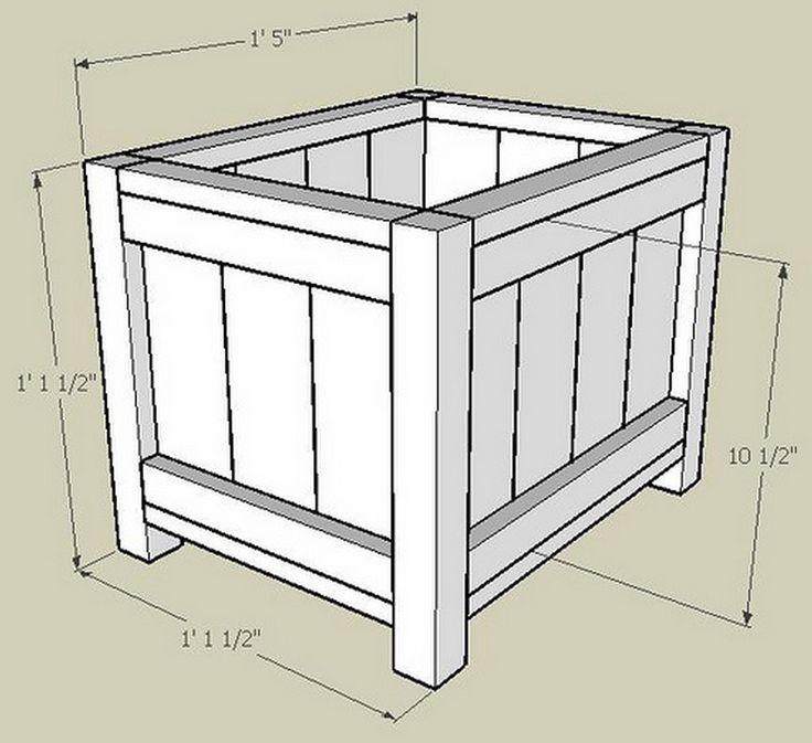 25 best ideas about Wooden planter boxes on Pinterest