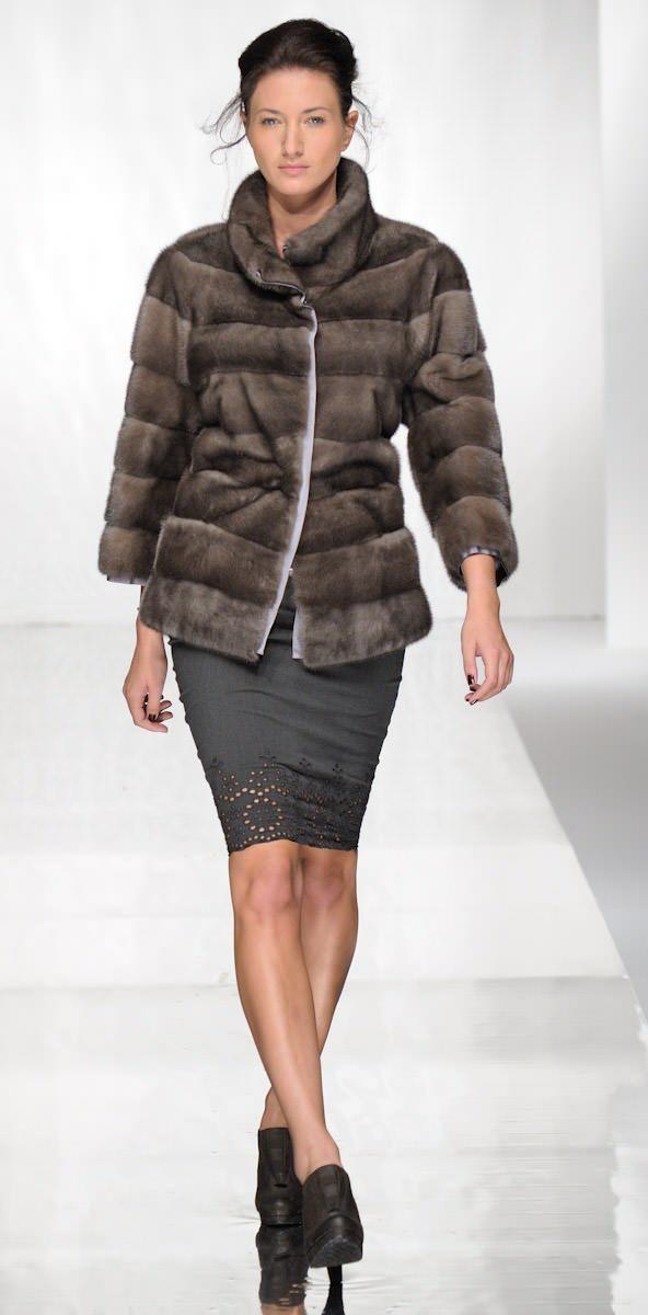 Fourrure Haute Couture Lookbook Carlo Ramello Collections fourrure de vison Chinchilla Zibeline