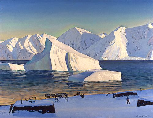 "Rockwell Kent, ""Early November: North Greenland"" (1933)"