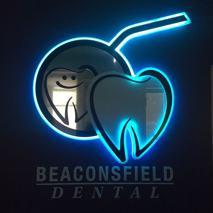 Beaconsfield Dental. Our cool logo can change colour in many different ways with an app on an iPhone.