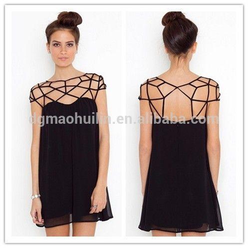 Look what I found Via Alibaba.com App: - OEM manufacturing summer women casual chiffon dress 2014 vestidos
