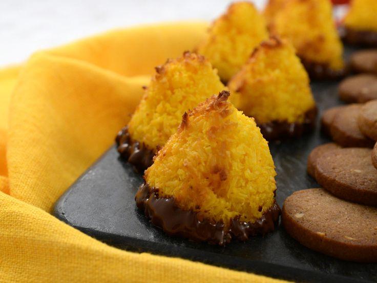 Kokostoppar med saffran och apelsin | Recept från Köket.se