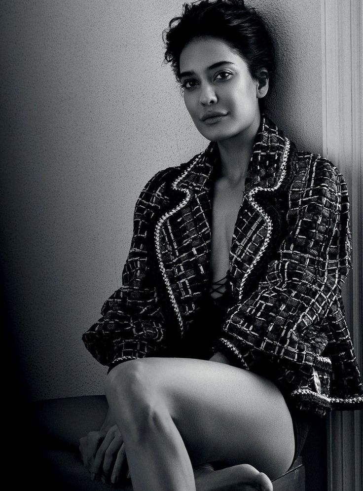 Lisa Haydon by Bikramjit Bose for Harper's Bazaar India June 2016 - Chanel Spring 2016