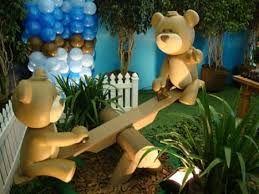 Resultado de imagem para decoração festa infantil urso