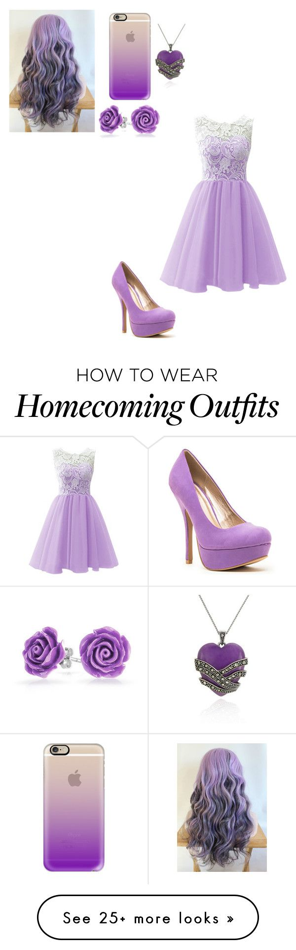 """""""#purple"""" by what12345 on Polyvore featuring Casetify, Qupid, Bling Jewelry and Belk & Co."""