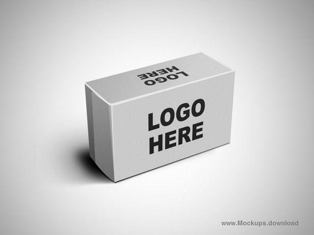 Download Cardboard Box Mockup Template Psd Free Download Box Mockup Mockup Template Cardboard Box