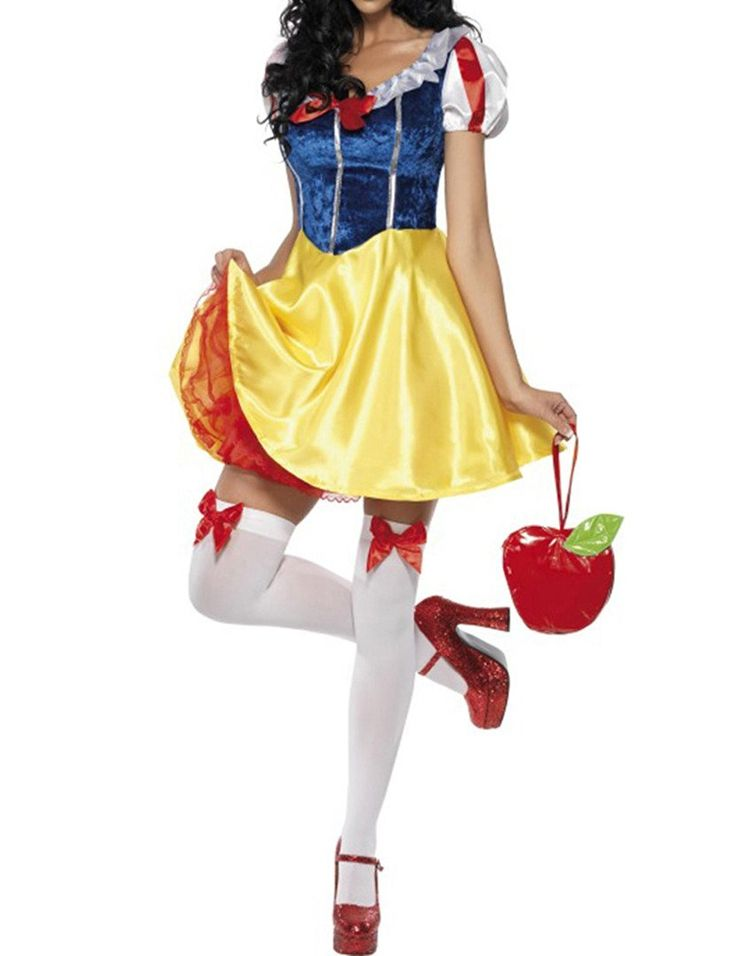 SkySea Snow White Costume Sexy Snow White Dress Halloween Costume (XL): Amazon.co.uk: Toys & Games