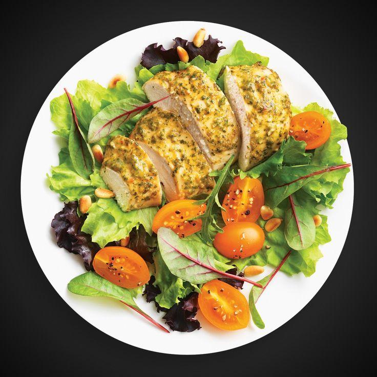 Préchauffer le four à 190 °C (375 °F). Mélanger la coriandre, l'ail, l'huile d'olive, le sel et le poivre dans le bol du robot culinaire ou dans un mini hachoir. Mélanger jusqu'à obtenir un mélange uniforme et lisse. Faire sauter dans la sauce pour sauté aigre-douce VH®. Mettre les poitrines de poulet dans un grand … Continue reading Poulet aigre-doux à la coriandre →