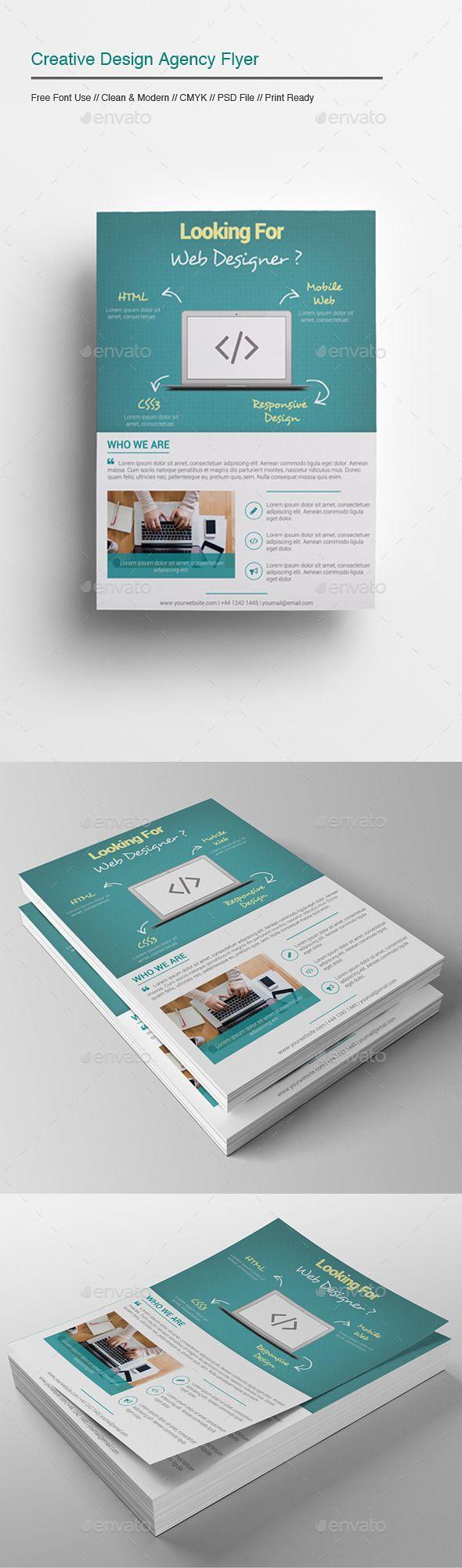Creative Design Agency Flyer - Corporate Flyers