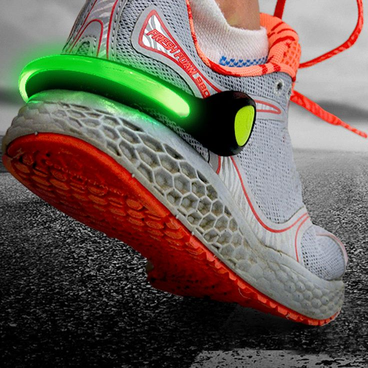 LightGUIDE LED Shoe Clip | LED Running Lights | LED Running Shoe Light