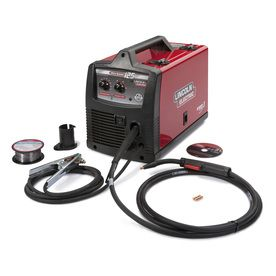 Lincoln Electric�120-Volt Flux-Cored Wire Feed Welder