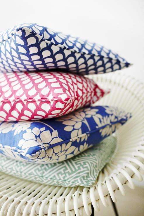 Korla cushions