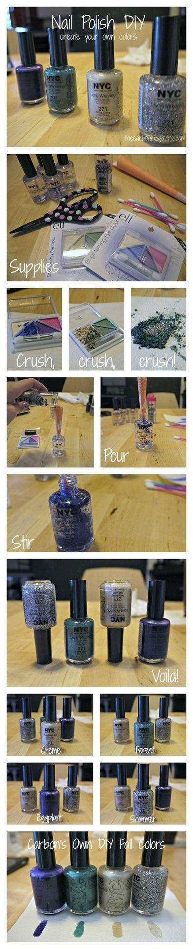 Design DIY: Homemade Nail Polish (x)