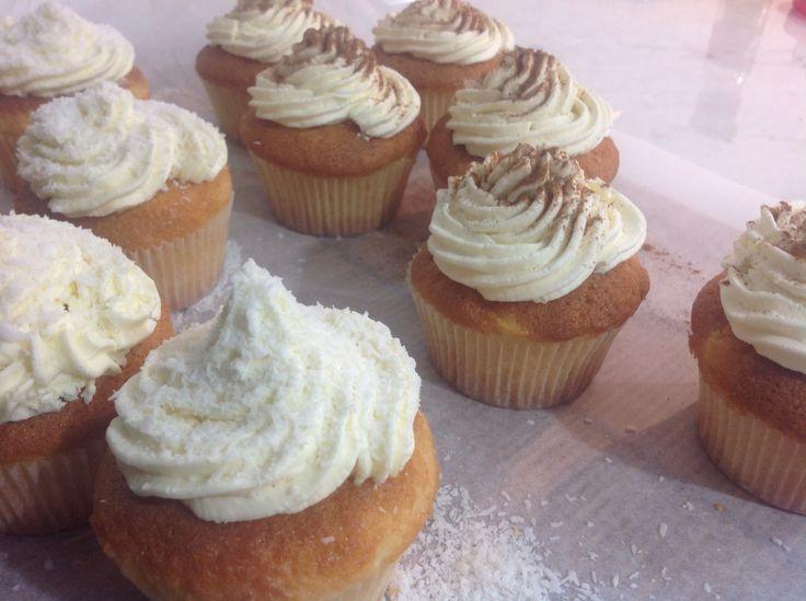Cupcake cocco e cannella