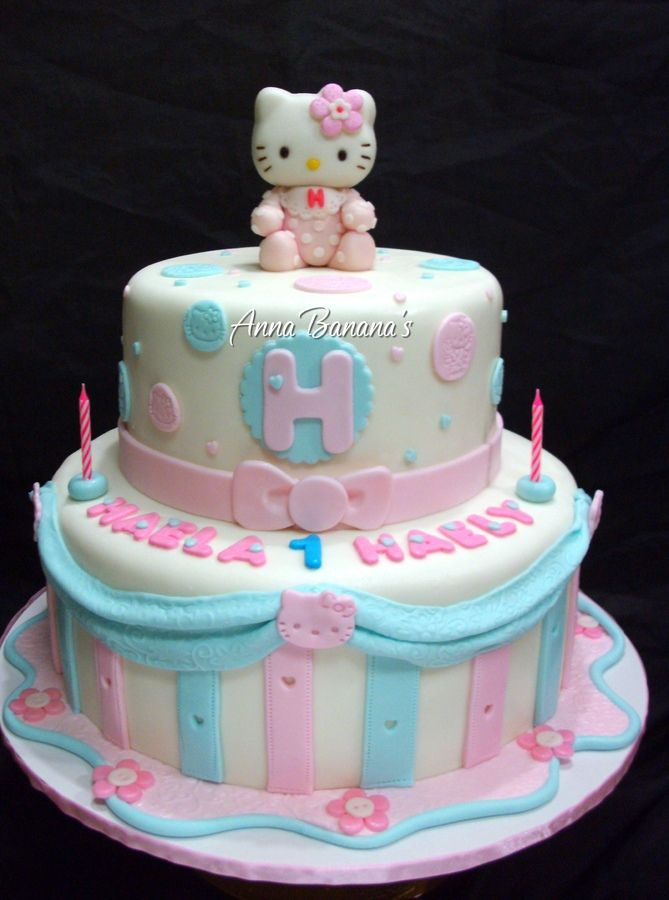 Find This Pin And More On Hello Kitty Babyshower By Kaylacarrico. Hello  Kitty Cake