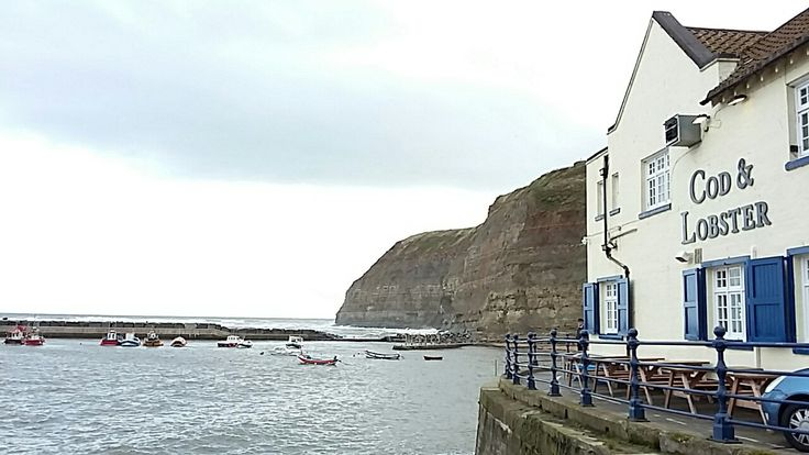 Staithes near Whitby Yorkshire