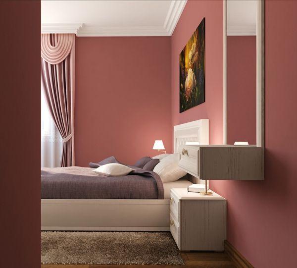 Altrosa Als Wandfarbe Frische Farbgestaltung Als Altrosa