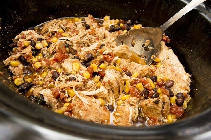 THM Southwest Chicken in the Crock Pot