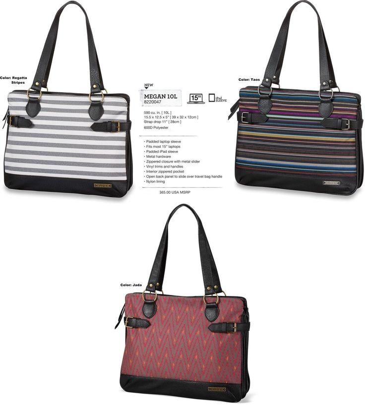 NEW Dakine Megan 10L Womens Laptop Purse Shoulder Hand Tote Shopping Bag Msrp$65