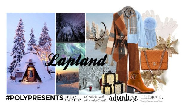 #PolyPresents: Dream Vacation by igiulia on Polyvore featuring Joseph, Jeffrey Campbell, Chanel, Moncler, Gentryportofino, BeckSöndergaard, WALL, contestentry and polyPresents