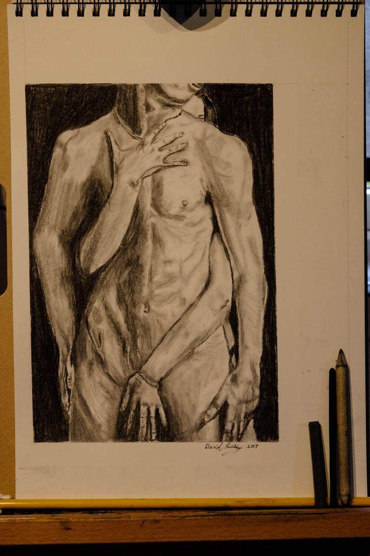 charcoal study