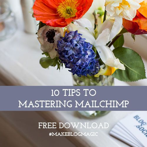 Tips to Using Mailchimp - get your marketing, blogging and social media sorted! Free download. #blogsociety #marketing #blogtips #mailchimp #socialmedia