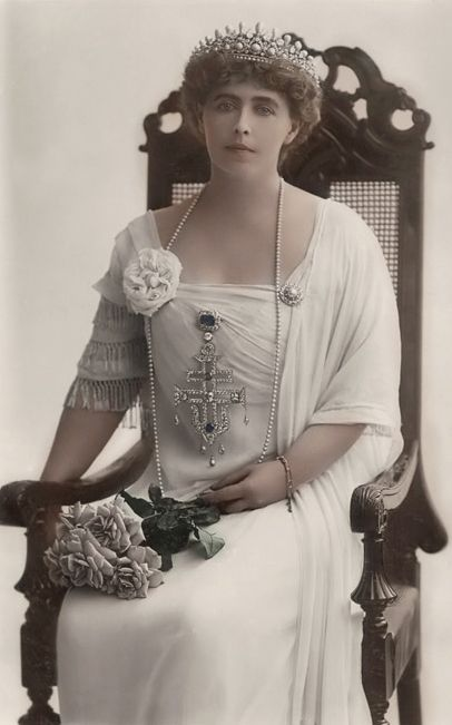 HM Queen Marie of Romania (1875-1938) née Her Royal Highness Princess Marie of Edinburgh, Princess of Great Britain and Ireland, Princess of Saxe-Coburg-Gotha, Duchess of Saxony