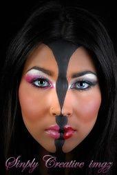 Optical illusion face paint | Face Paint art | Pinterest ...