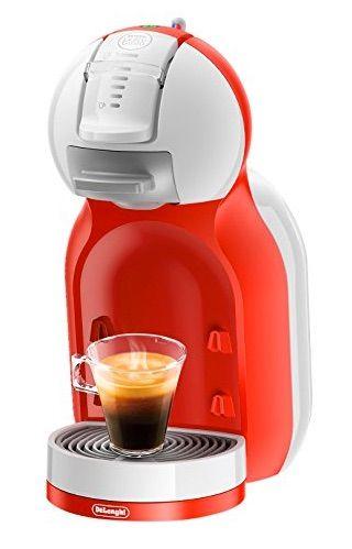 ¡Oferta que no te vas a creer! Cafetera DeLonghi Dolce Gusto Mini Me EDG 305 WR por unos 60 euros cuando su precio habitual suele ser de unos 80 euros.