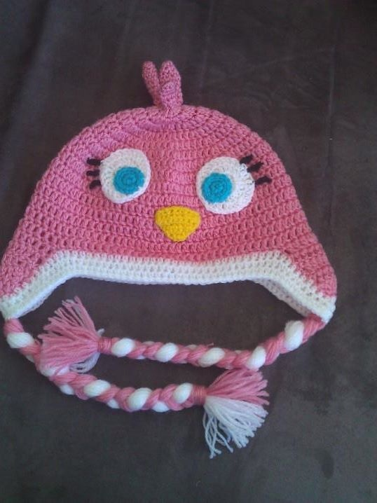 Crochet Hat Pattern Angry Bird : 17 Best images about CROCHET - Scarves & Hats on Pinterest ...
