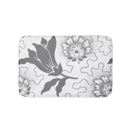 Best Rustic Bath Mats Ideas On Pinterest Farmhouse Bath Mats - Black and white floral bath mat for bathroom decorating ideas