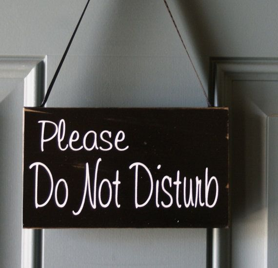 17 Best Images About Door Hangers Quot Do Not Disturb Quot On
