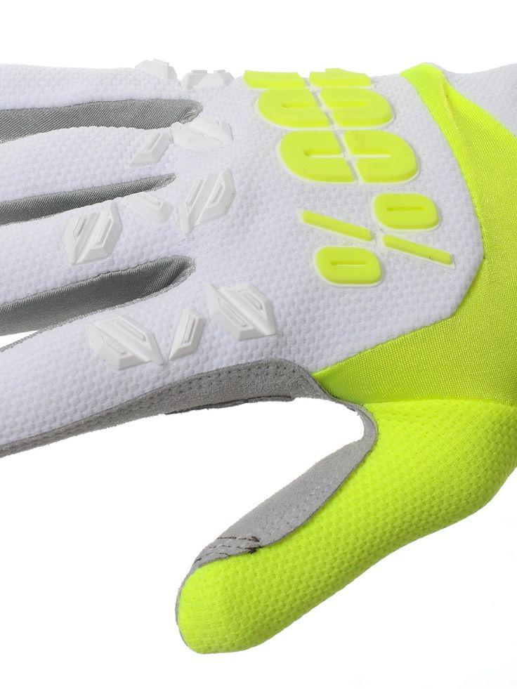 Image 3: 100 Percent MX Handschuhe 2017 Airmatic Weiß-Lime