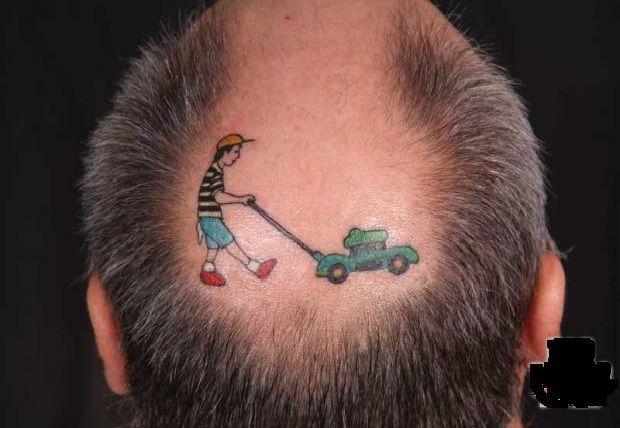 Lawnmower Creative Tattoos Tattoos Creative Tattoos