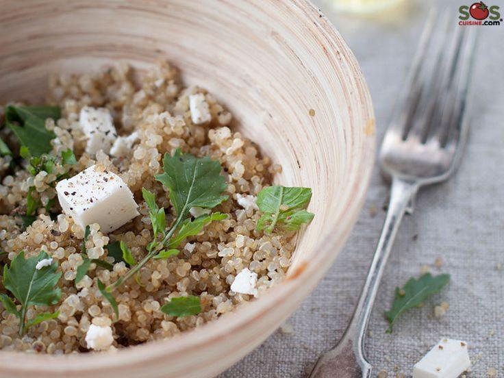 SOSCuisine: Salade tiède de quinoa et roquette