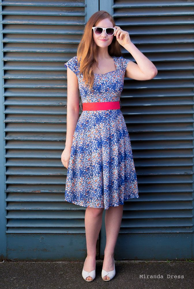 Weekend Doll | Miranda Dress A pretty ditsy floral print dress